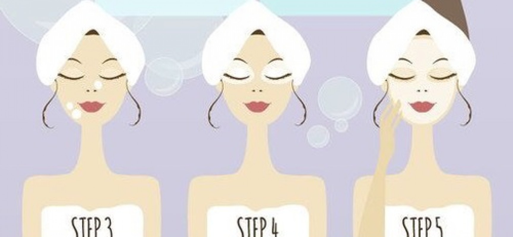 Daily care : How to wash your face