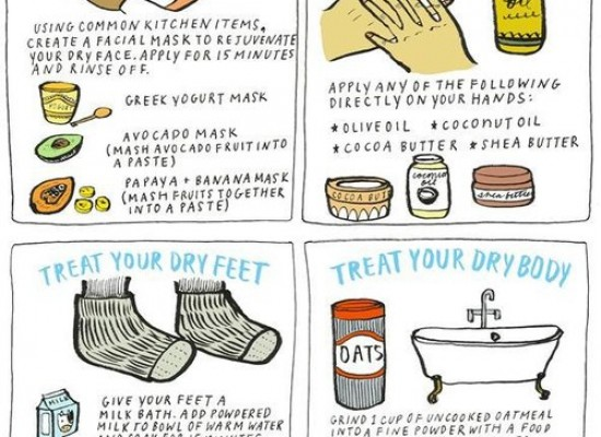 Dry Skin Home Remedies that Actually Work