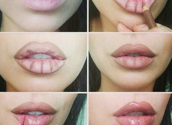 Fuller Lips At Home